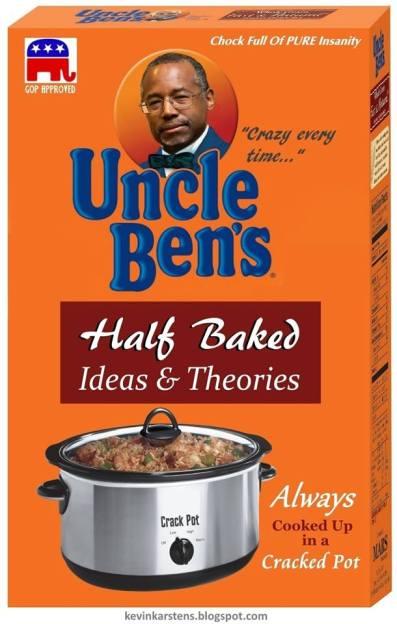 Ben Carson as Uncle Ben